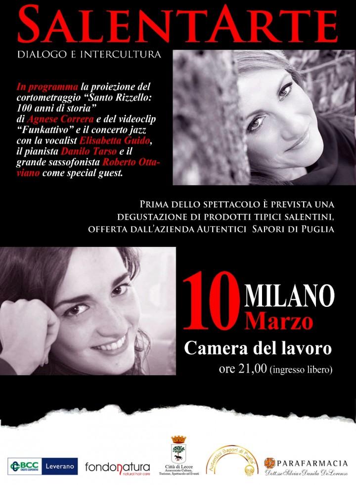 SalentArte: la magia e l'incanto del Salento tra suoni, immagini e sapori venerdì 10 marzo alla Camera del Lavoro di Milano