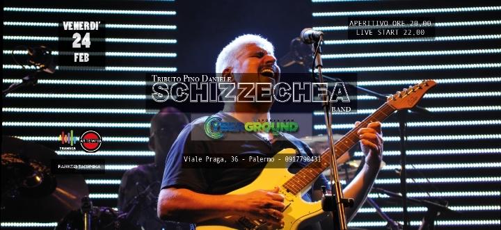 Schizzechea Pino Daniele Tribute Band al Cybe