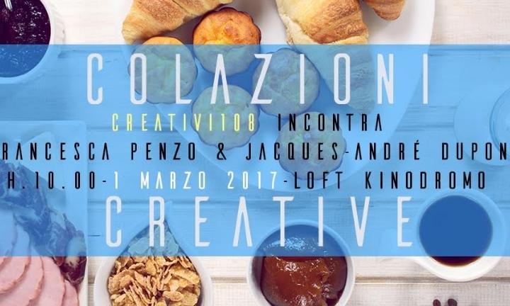 """""""Colazioni Creative"""" – Creativi 108 incontra"""