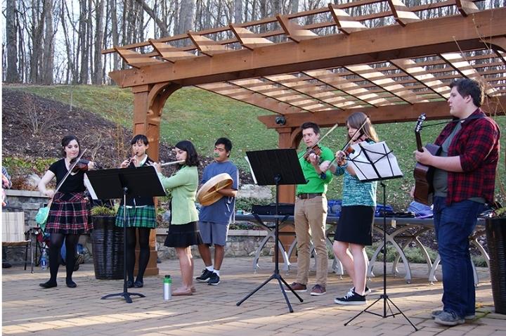 St. Patrick's Day Concert at the EJC Arboretu