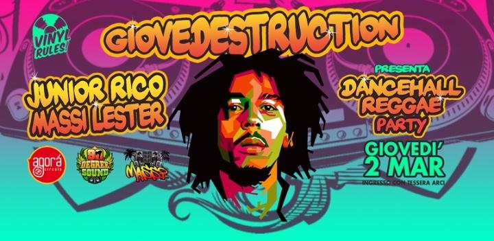 Giovedestruction presenta special dancehall r