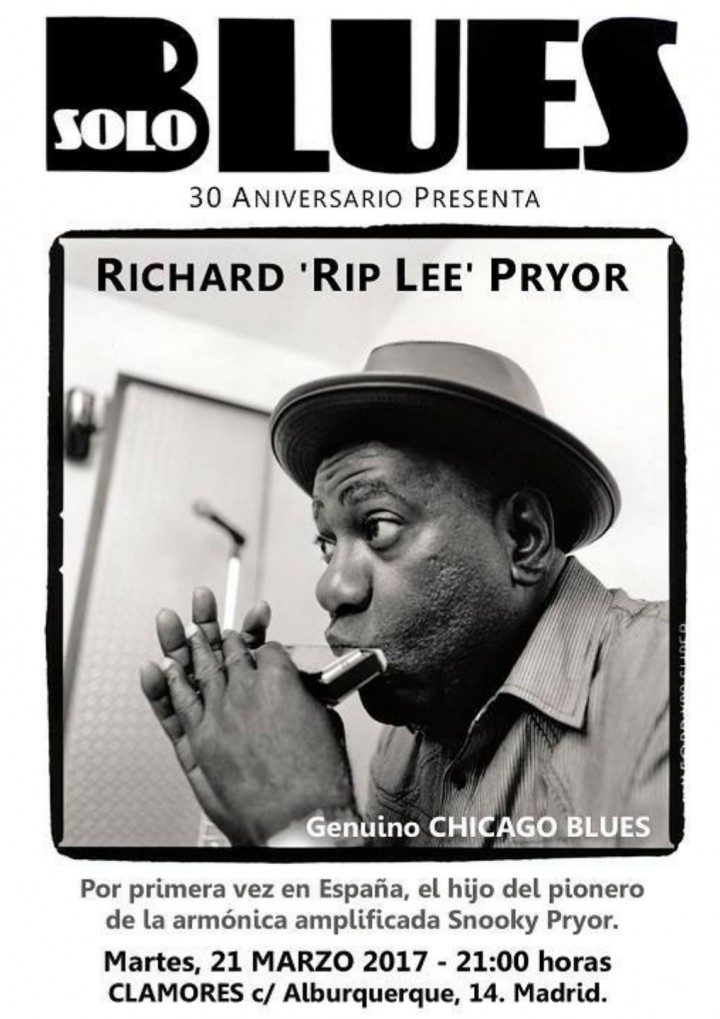 Rip Lee Pryor - CHICAGO BLUES