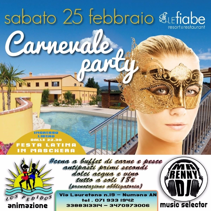 CARNEVALE LATINO ALLE FIABE
