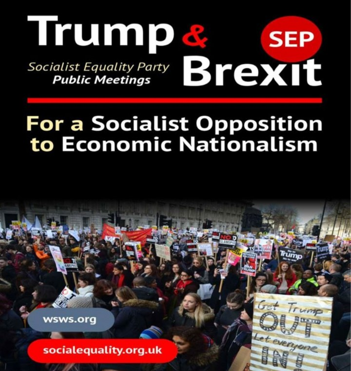 Trump and Brexit: For a socialist opposition