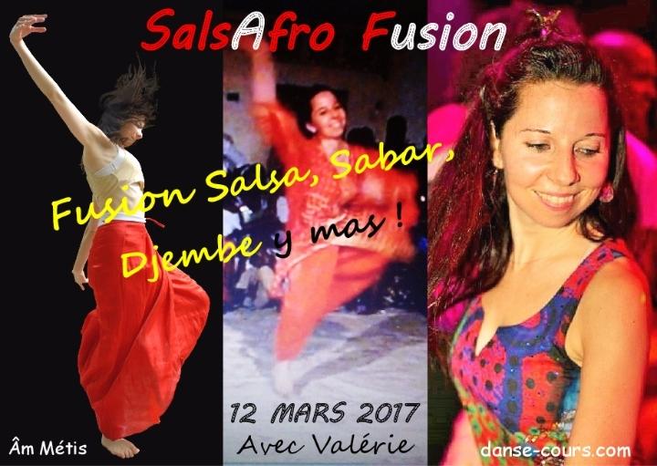 Stage de SalsAfro Fusion avec Valérie !