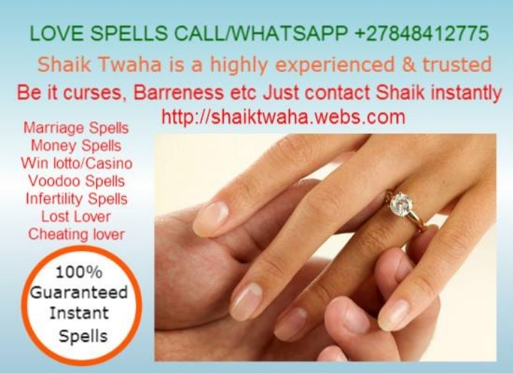 100% Results( +27 848412775 )ex love back spe