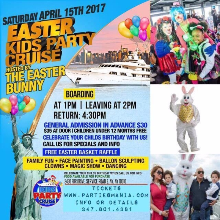 Easter Kids Party Cruise