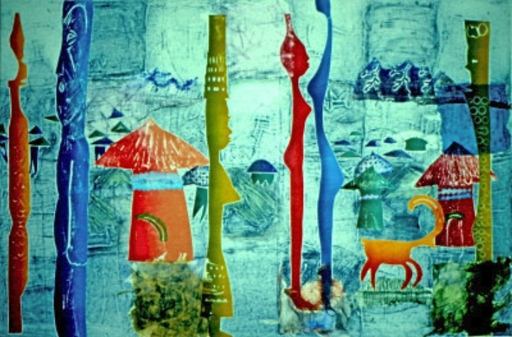 Barbara McPhail Collagraph Two Day Workshop 1