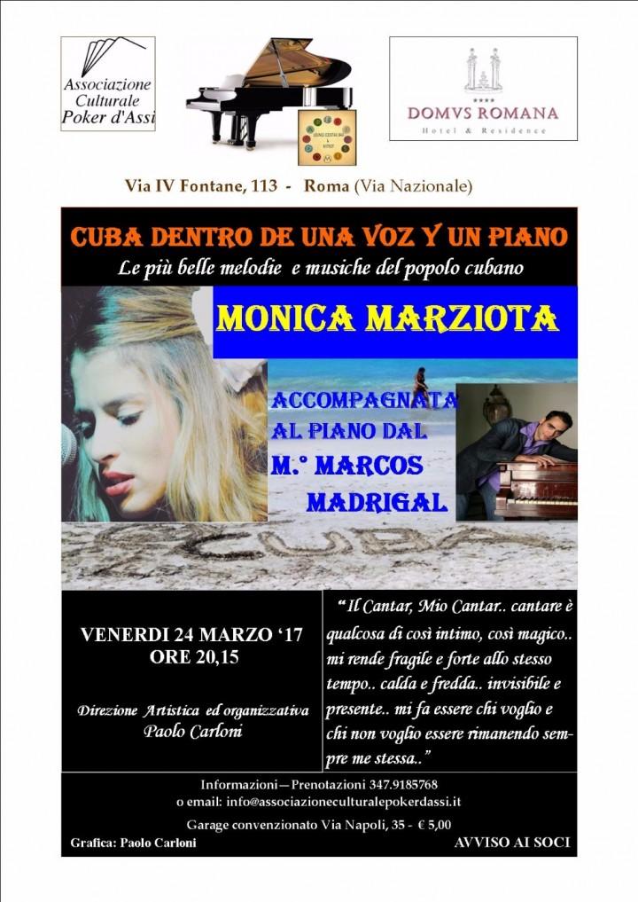 Cuba dentro de una voz y un piano con Monica