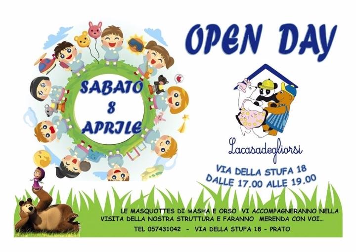 Open Day asilo nido La Casa degli Orsi via de