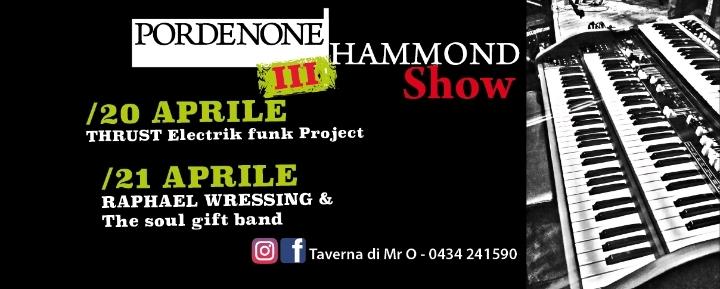 III° Pordenone Hammond Show