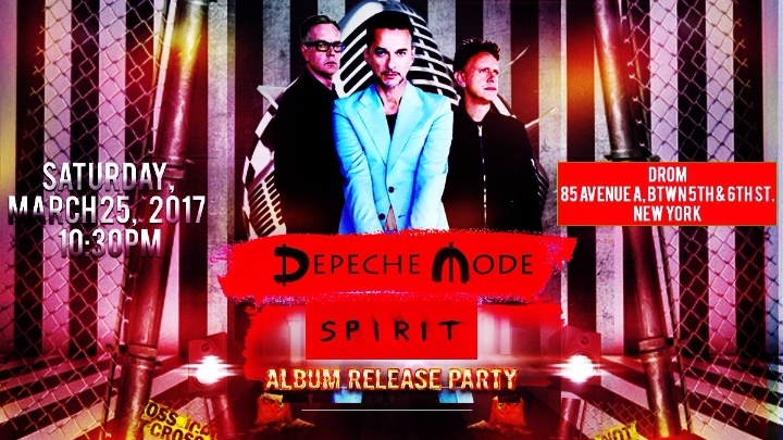 Depeche Mode SPIRIT Album Release Party