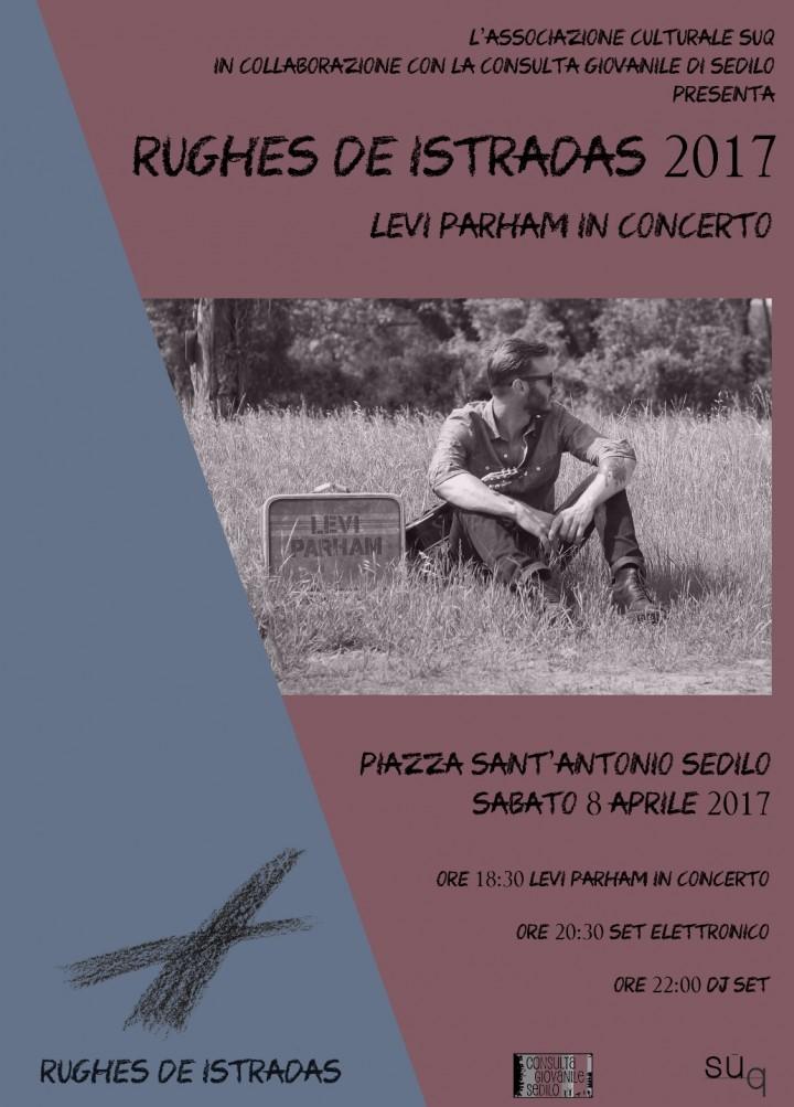 Rughes de Istradas - Levi Parham in concerto
