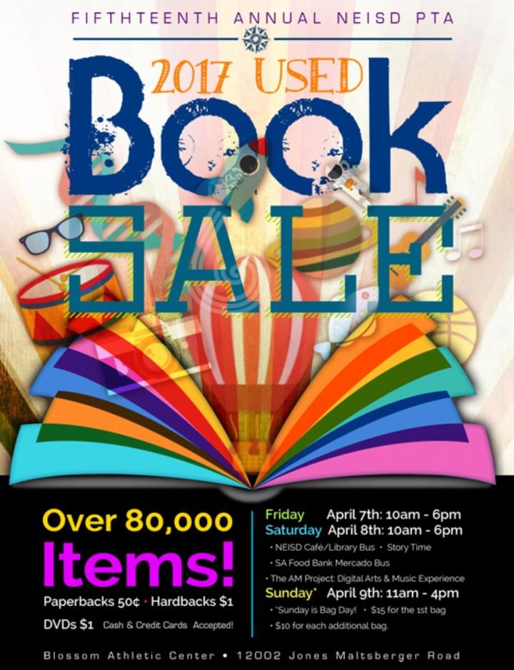 15th Annual NEISD PTA Used Book Sale