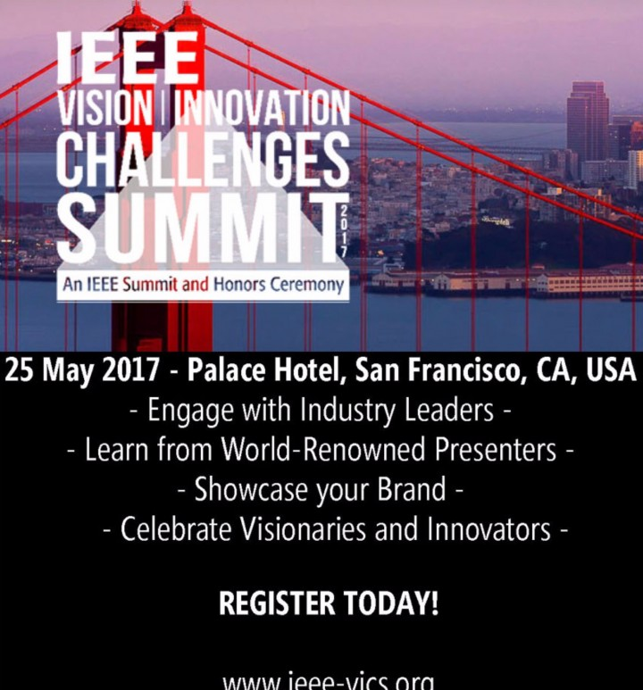 IEEE Vision Innovation Challenges Summit (VIC