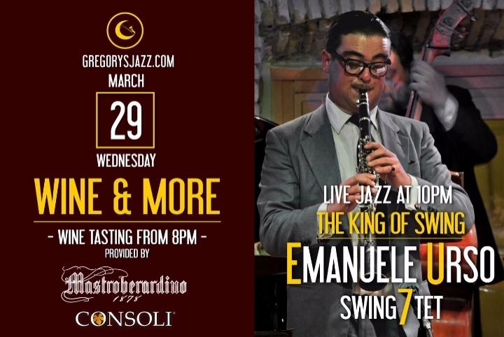 Wine & More…Emanuele Urso – The King of Swing