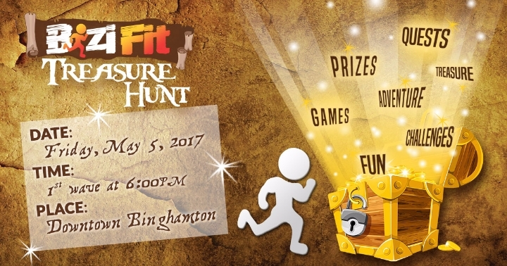 BiziFit Treasure Hunt