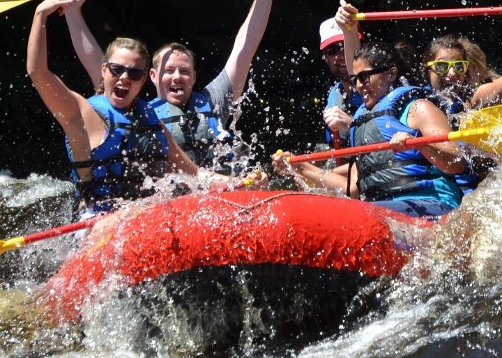 Poconos Whitewater Dam Release Rafting