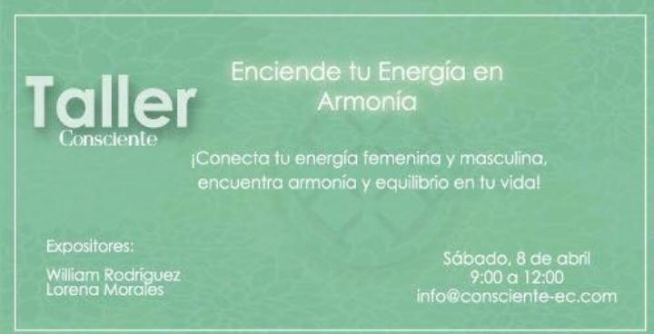 Enciende tu energía en armonía