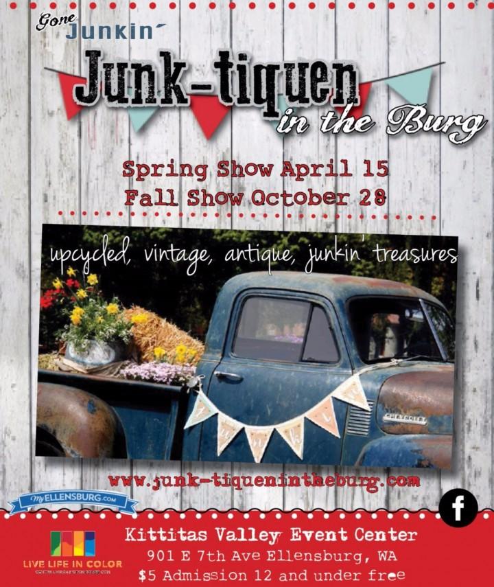 Junk-tiquen in the Burg Vintage Market