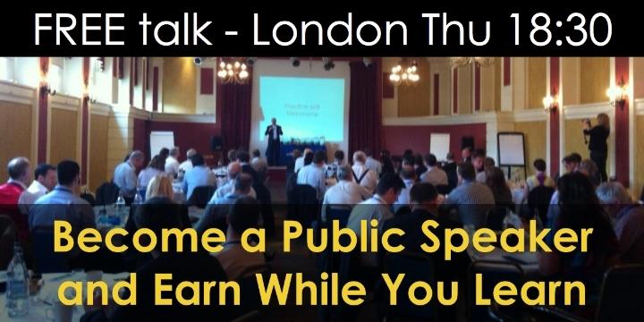 Make Money with Public Speaking