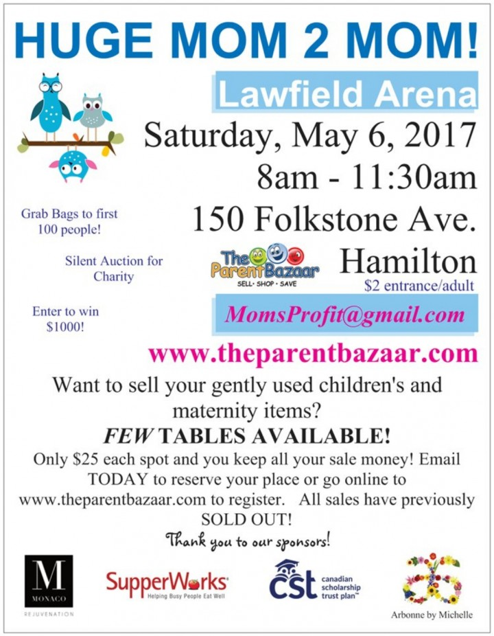 Mom to Mom sale at Lawfield arena!