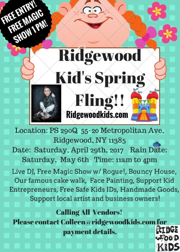 Ridgewood Kid's Spring Fling!!
