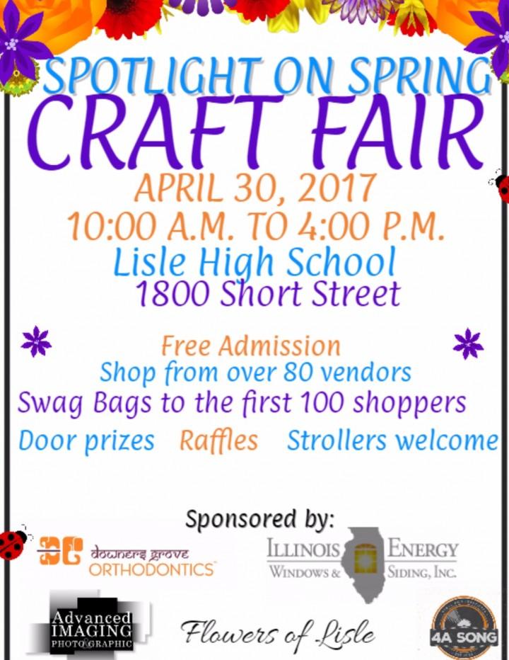 Spotlight on Spring Craft Fair