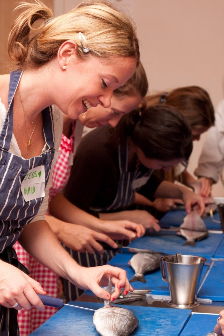 Fish Skills - 2 course Cooking & Dining Exper
