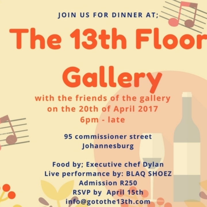 art dinner party the 13th floor johannesburg 20 apr 2017