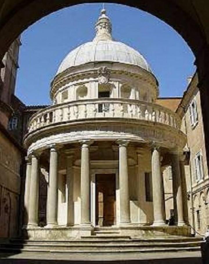 San Pietro in Montorio e il Tempietto di Dona