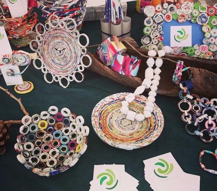 `riciclo artigianale e artigianato digitale` Greengrin a Giuliana!