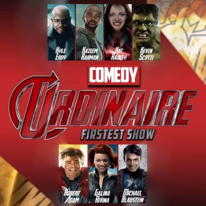Comedy Ordinaire's Firstest Show!!