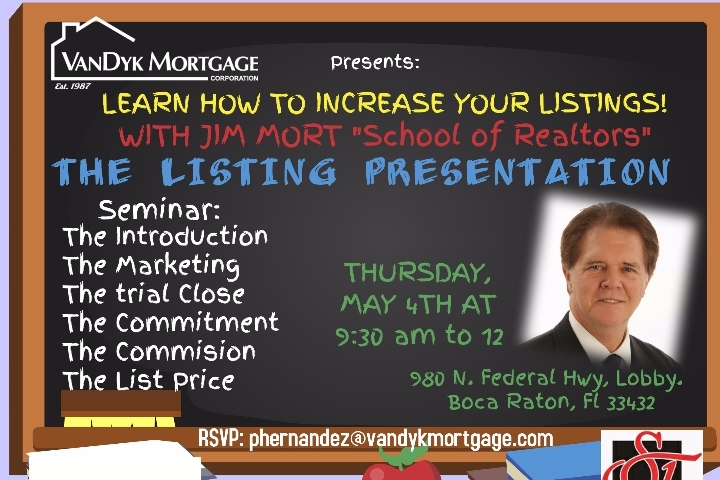 """Create the Perfect Listing"" Realtors Seminar"