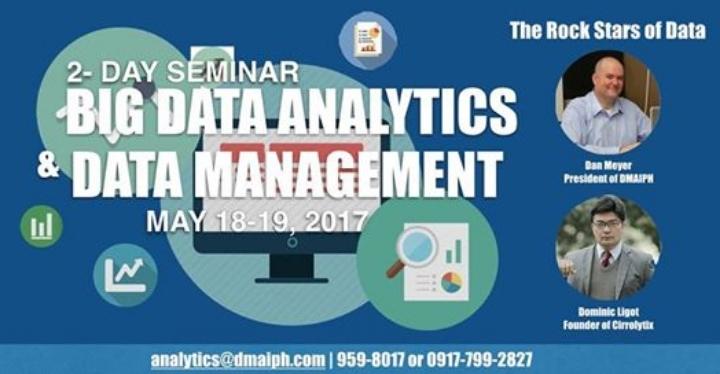 The Rock Stars of Data: Big Data Analytics &