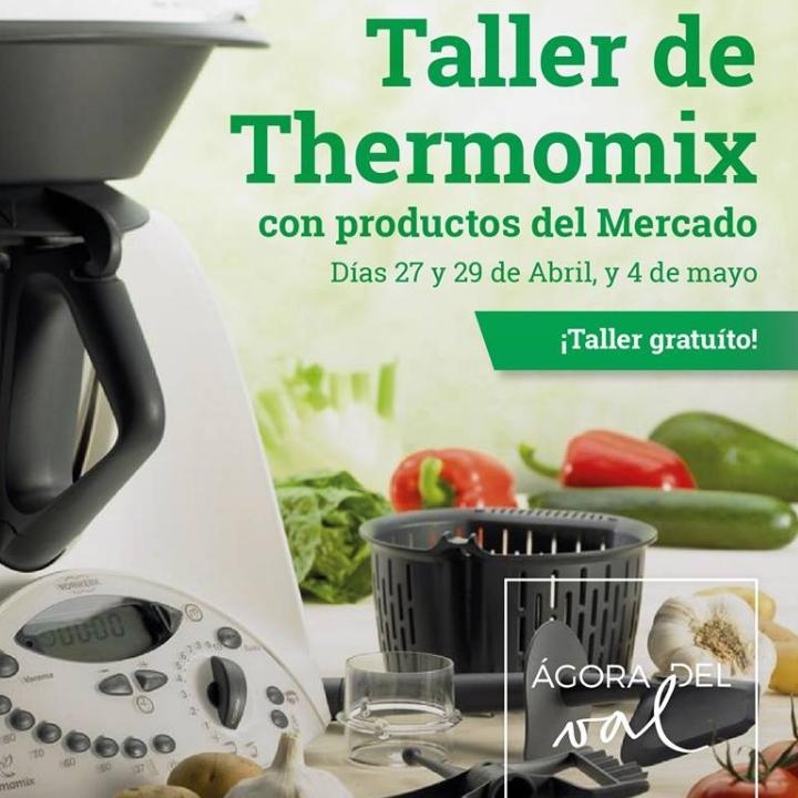 Taller de cocina con Thermomix en el Mercado