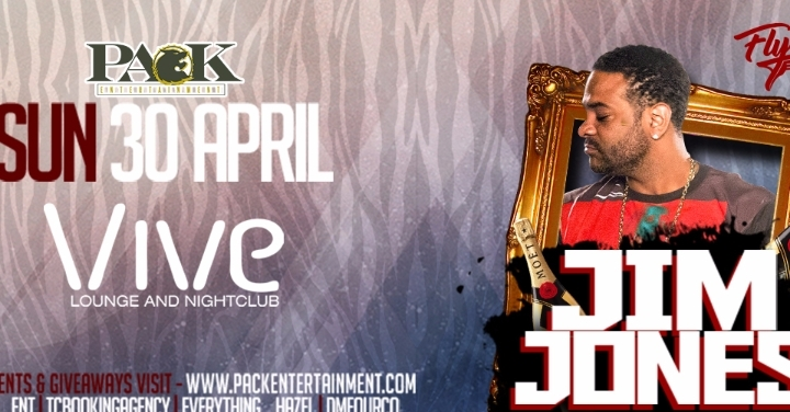 Jim Jones Live at Vive