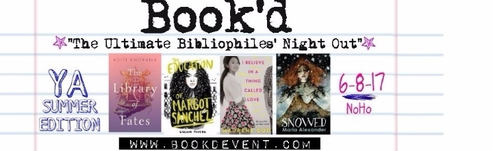 """Book'd """"The Ultimate Bibliophiles' Night Out"""""""