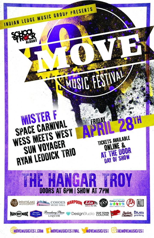 MOVE Music Festival @ The Hangar on the Hudso