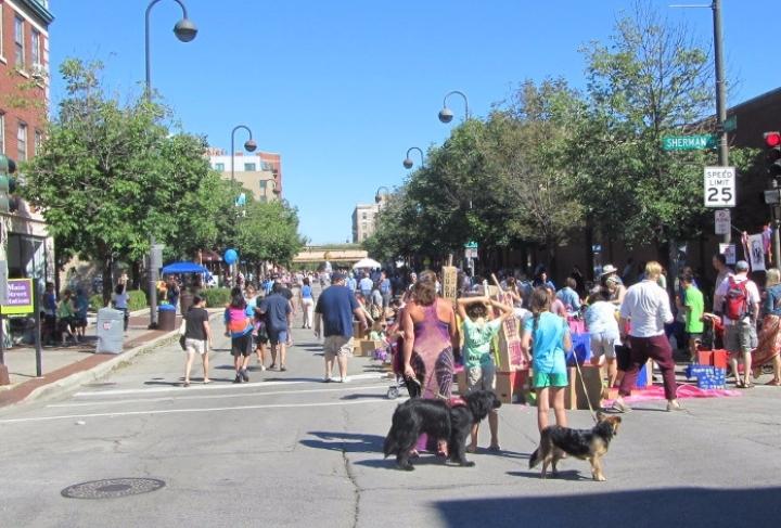 Streets Alive! and Evanston Green Living Fest