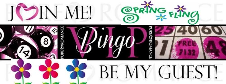 Spring Fling Pure Romance Vendor Bingo!