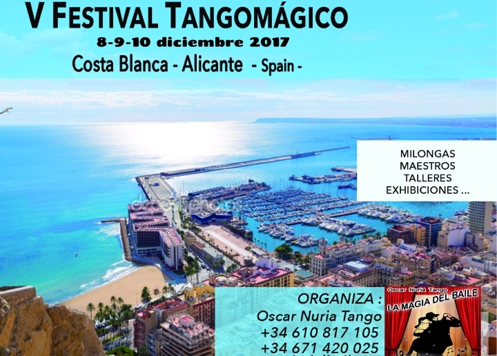 V Festival Tangomágico en Alicante, Spain