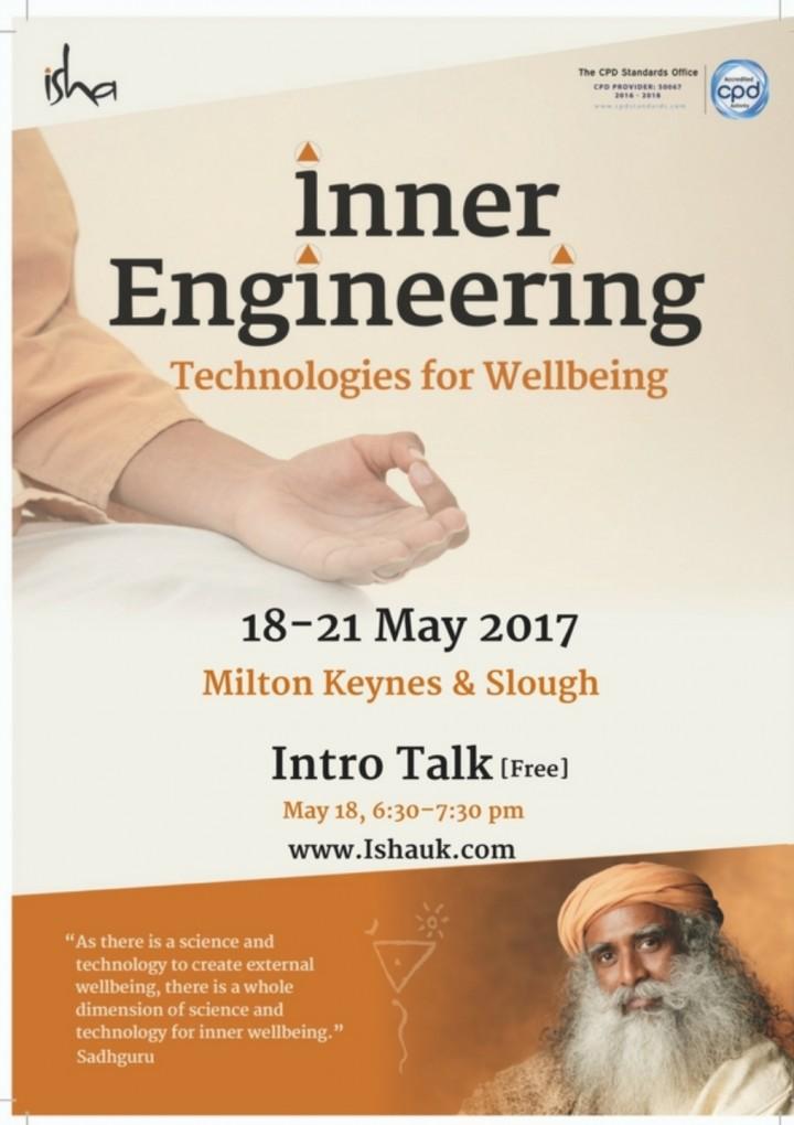 Inner Engineering with Shambhavi Mahamudra