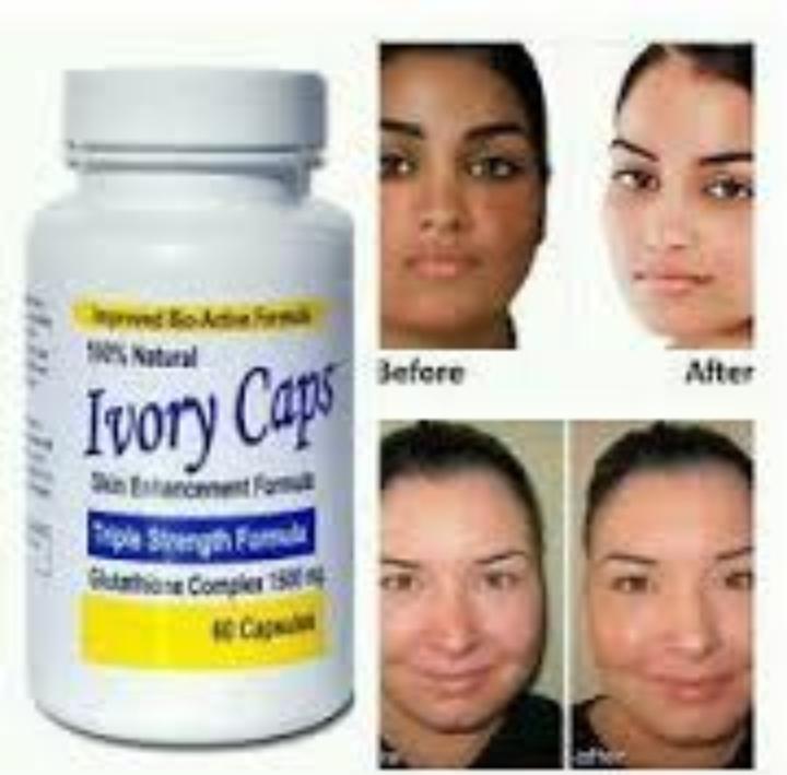 Ivory Caps -skin Lightening $ Whitening cream