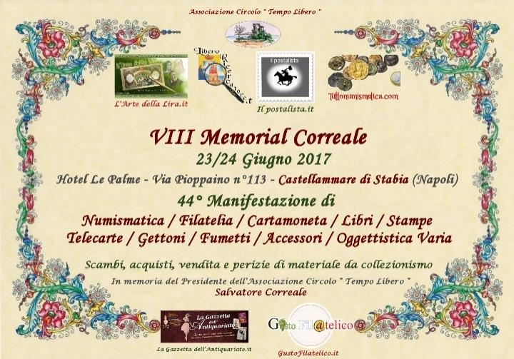 Memorial Correale 8 Edizione - 23/24 Giugno 2