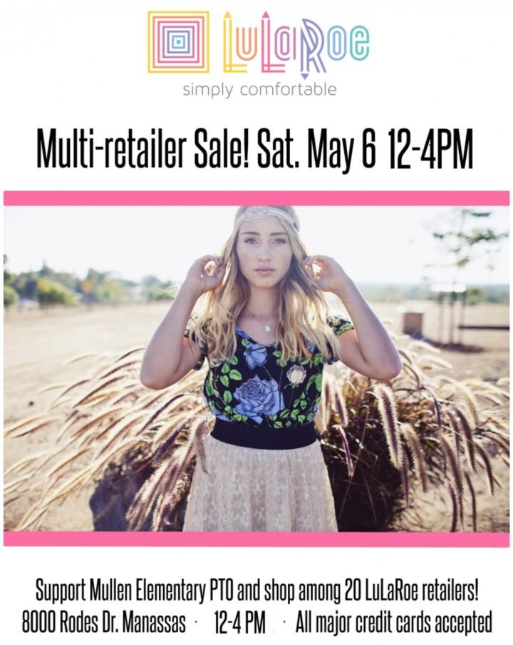 LuLaRoe Multi-Consultant Event at Mullen ES