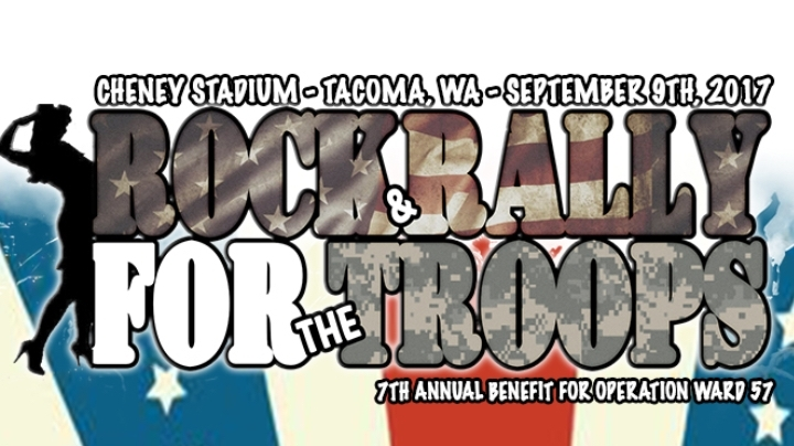 ROCK AND RALLY FOR THE TROOPS