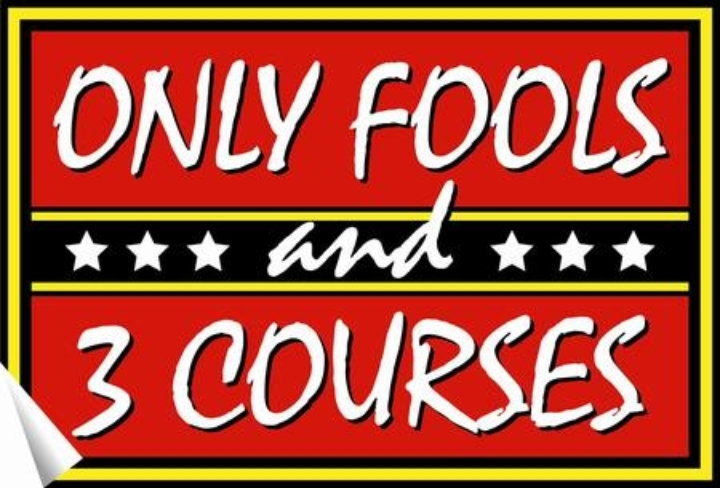 Only Fools and 3 Courses Comedy Night and Din
