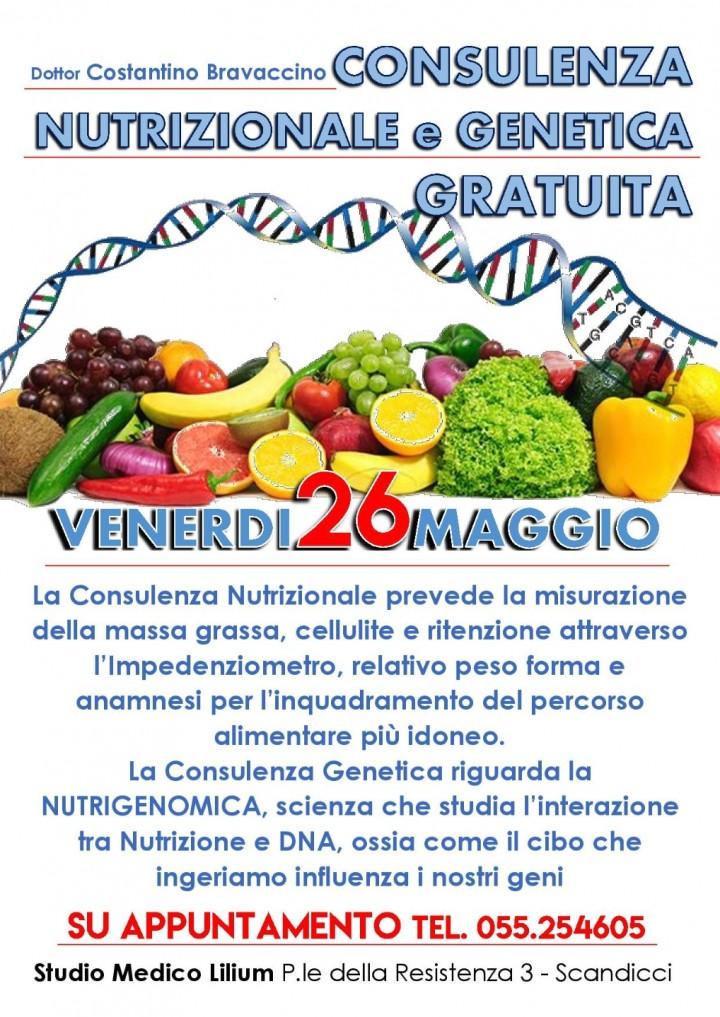 Consulenza Nutrizionale e Genetica Gratuita