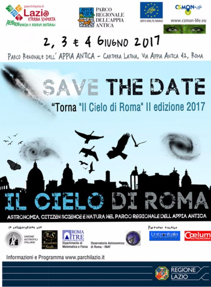 IL CIELO DI ROMA 2017 - II Edizione